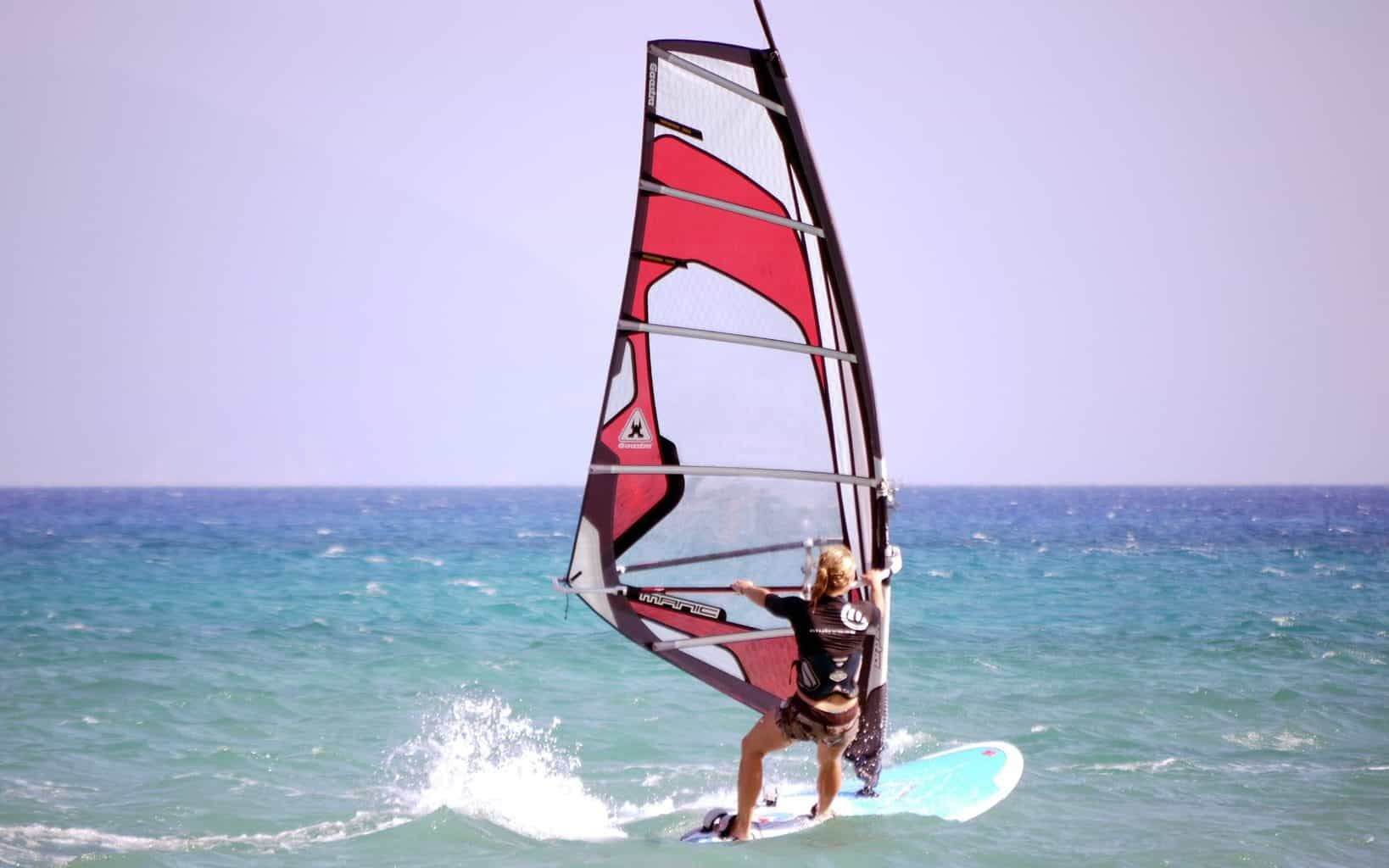 windsurfing beginner questions