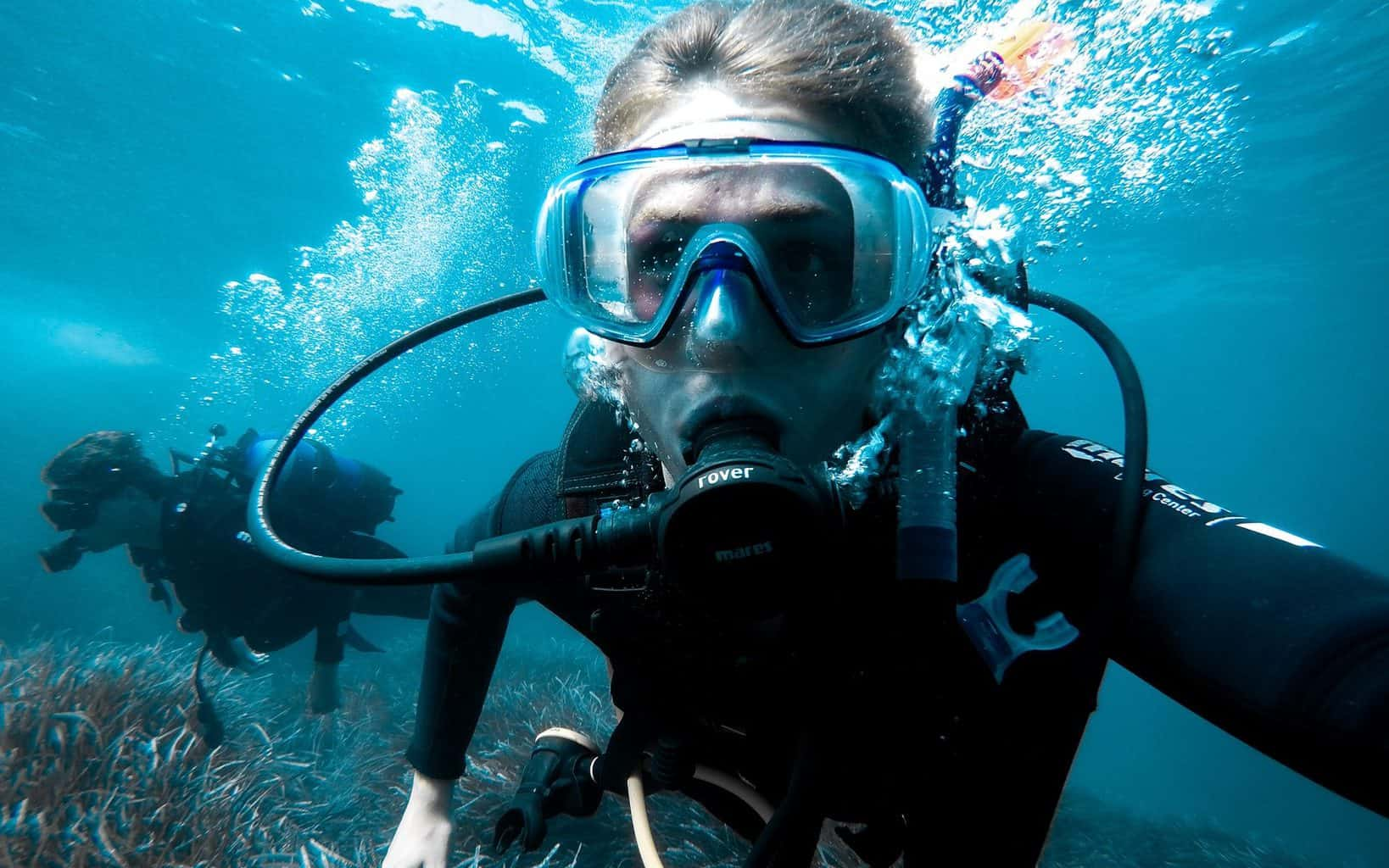 is scuba diving bad for health