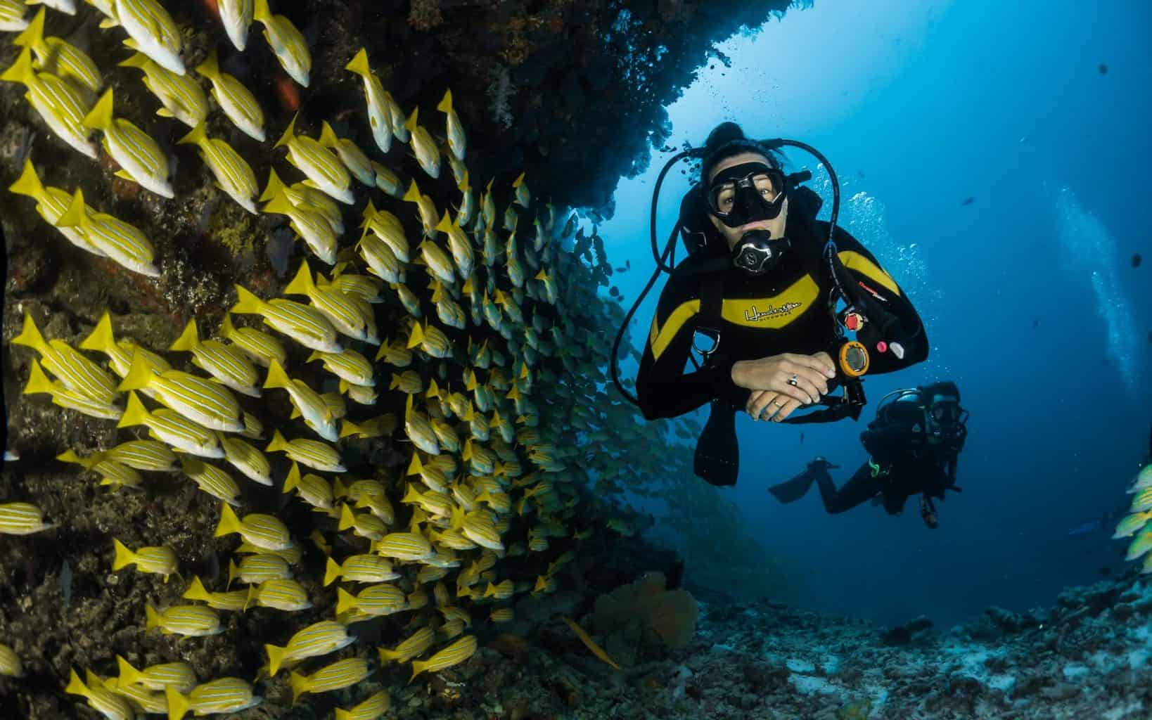 is scuba diving extreme sport