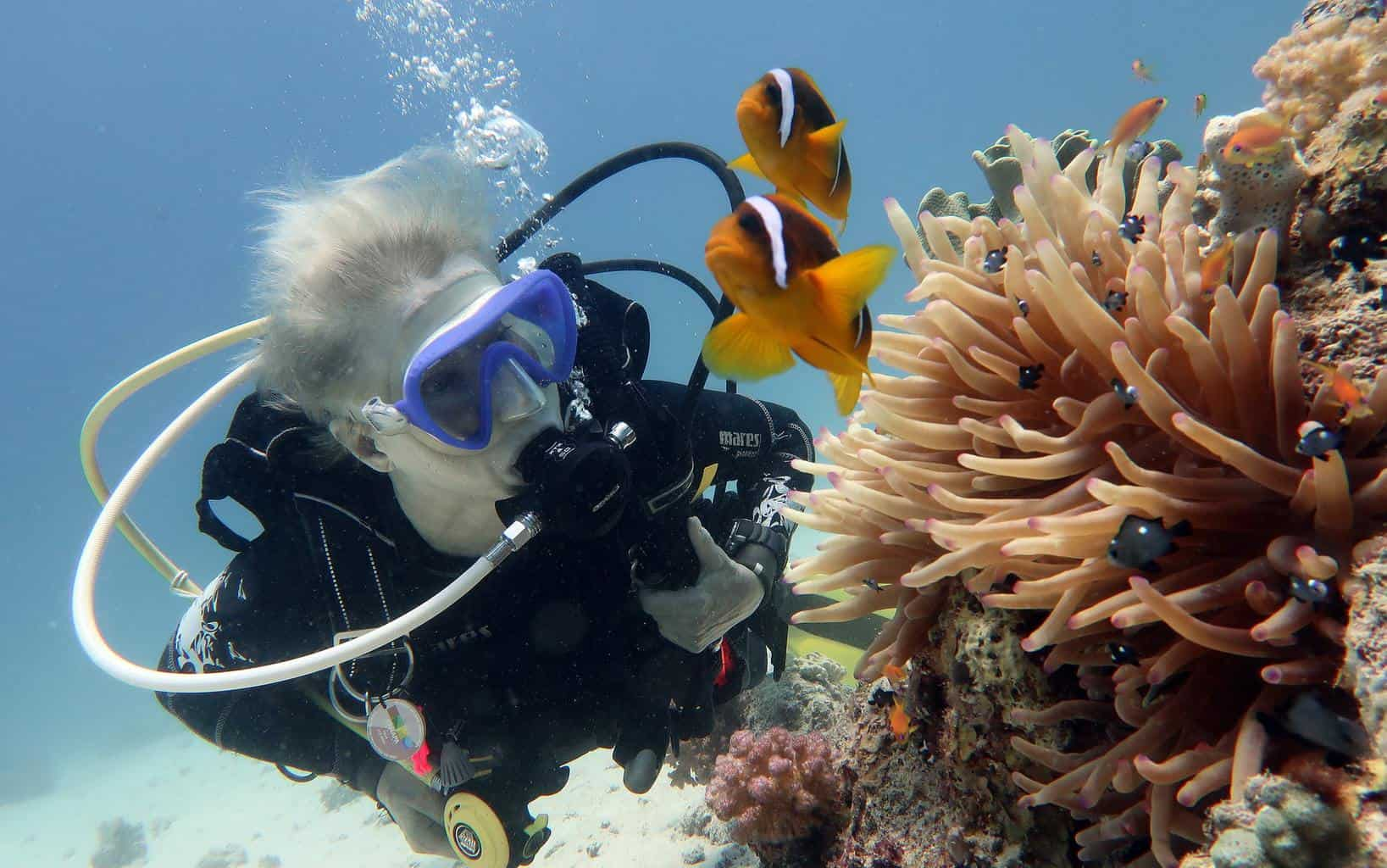 can scuba diving cause spider veins